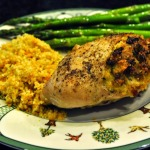 French Fridays with Dorie: Sausage-Stuffed Chicken Breasts