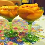Amazing Brandied Peaches