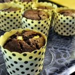 Baked Sunday Mornings: Chocolate Cheesecake Muffins