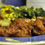 French Fridays with Dorie: Twenty-Minute Honey-Glazed Duck Breasts with Roasted Jerusalem Artichokes