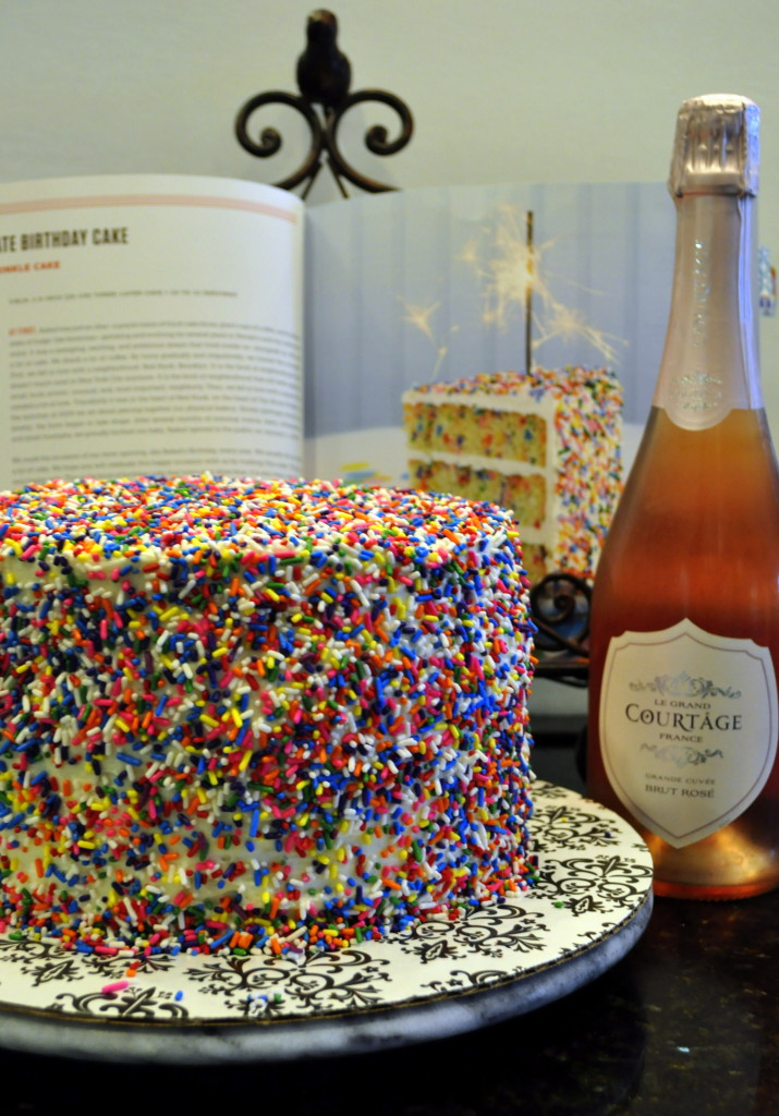 Cake & Pink Champagne fit for a Princess!
