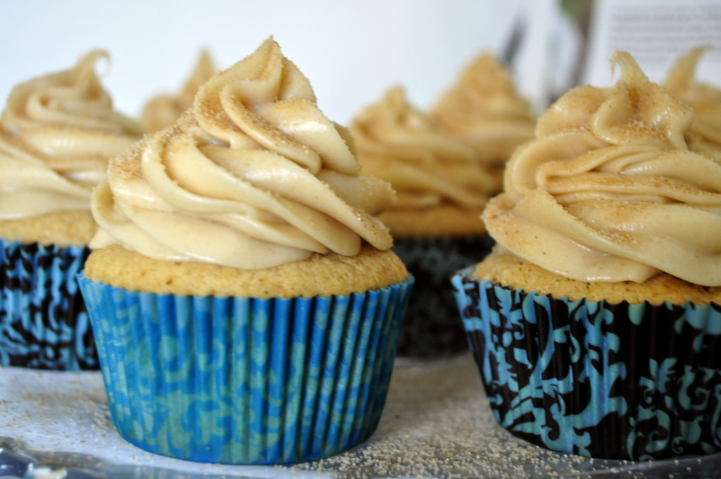 These cupcakes baked up perfectly and taste amazing!