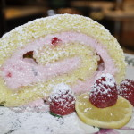 Baked Sunday Mornings: Light & Lemony Jelly Roll with Raspberry Cream Filling