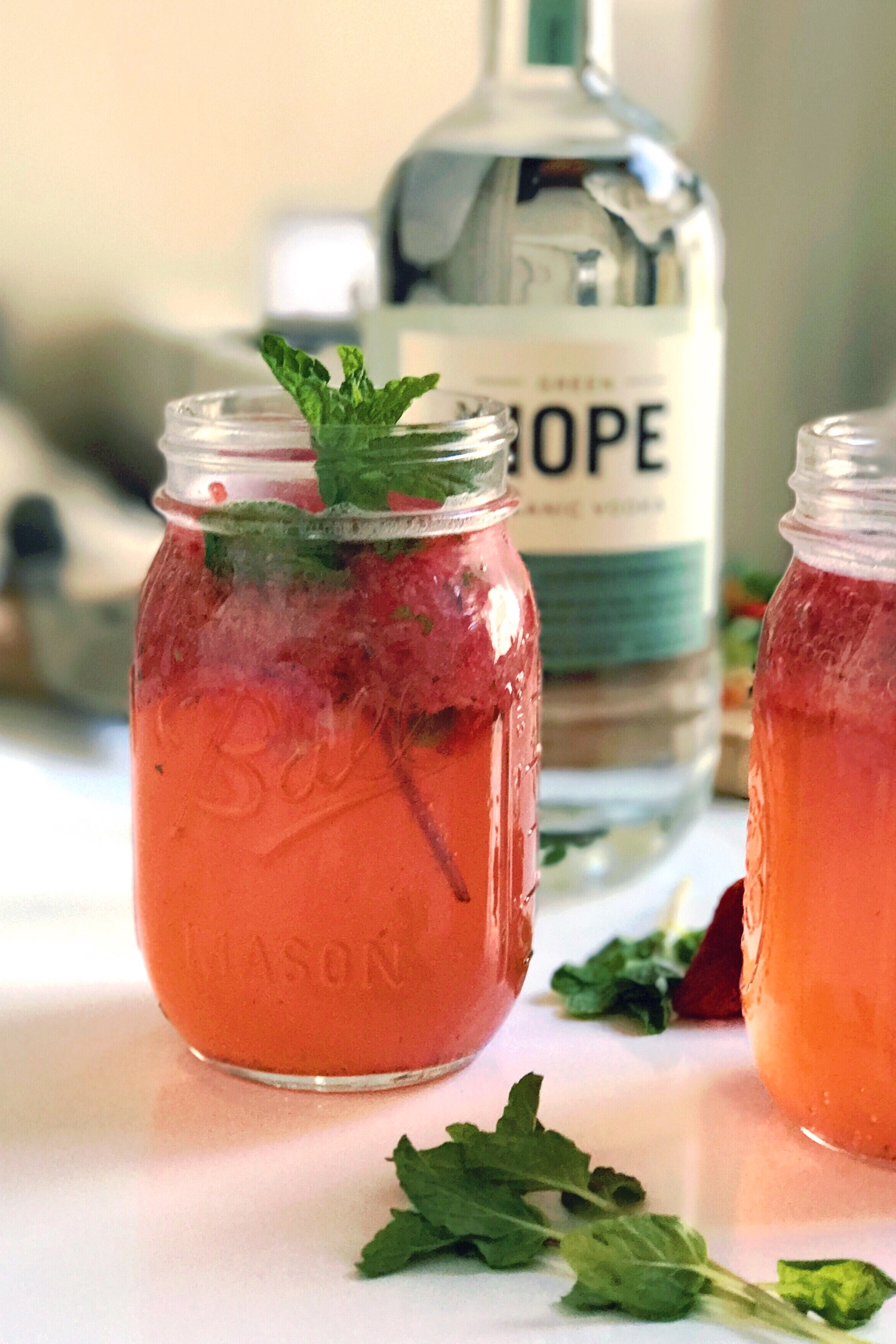 Strawberry Summers Cocktail Recipe