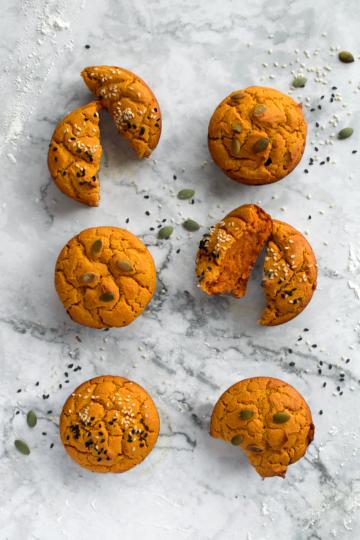 Pumpkin Mochi Muffin