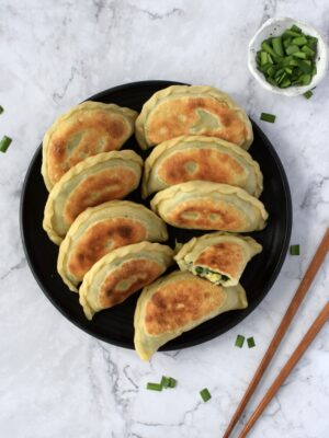 Egg + Chive Boxes (韭菜盒子)