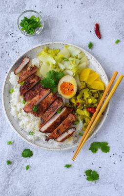 Pork Chop Rice (Pai Gu Fan)