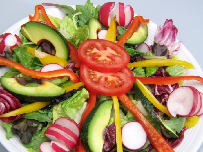 Garden Salad with Lemongrass Vinaigrette