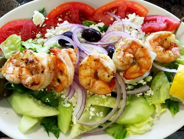 Greek salad with shrimp 3 for web