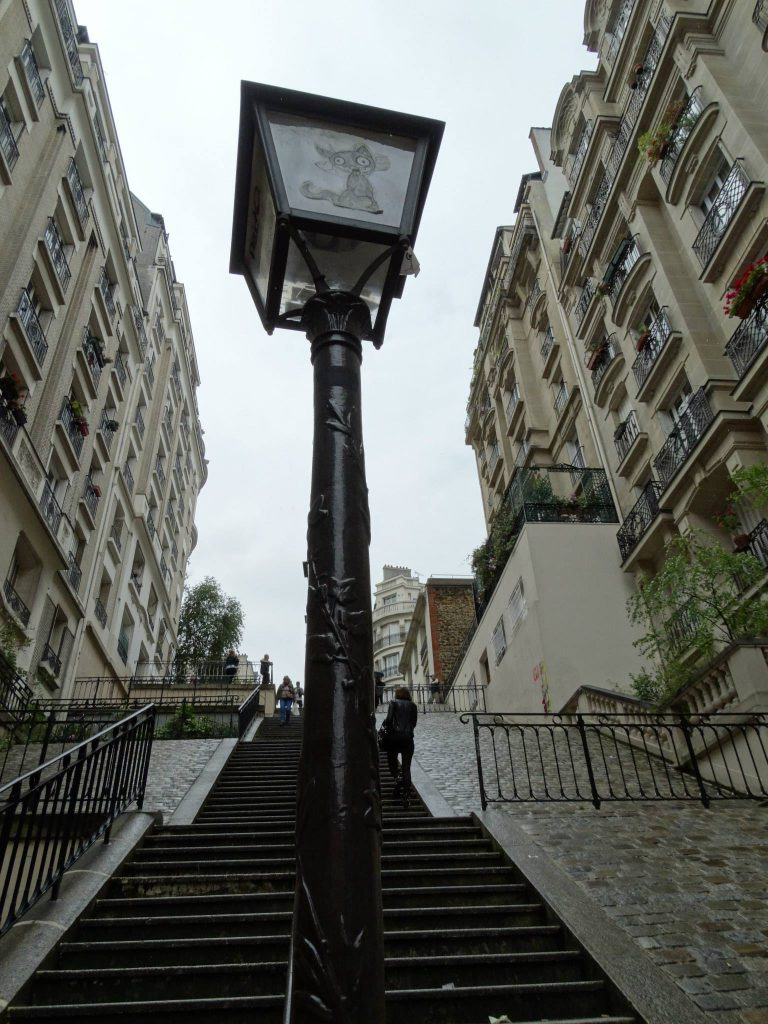 Streets - and steps - of Montmarte