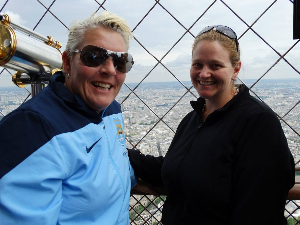 Living on the edge - and at the top - Eiffel Tower