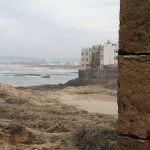 Essaouira ramparts and allegedly good surf beaches.