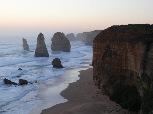 The Twelve Apostles at sunset - Great Ocean Road, Victoria