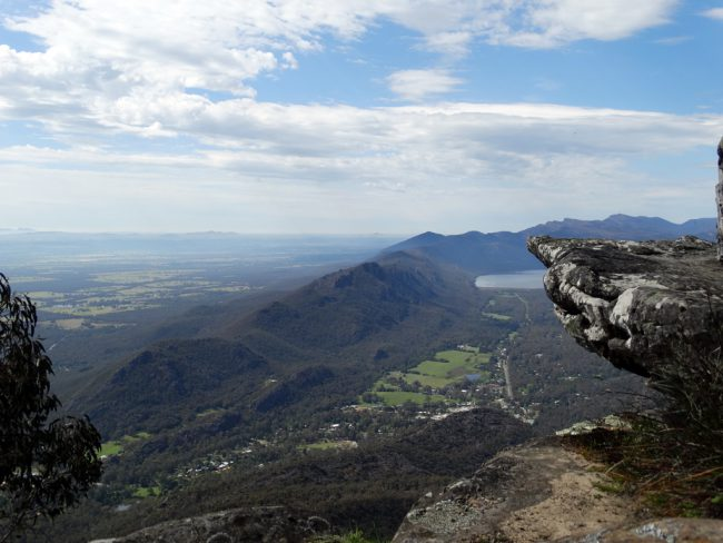 Grampians National Park, above Halls Gap