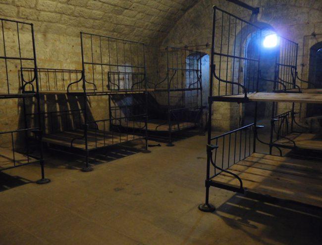 Fort Douamount's cosy bedrooms