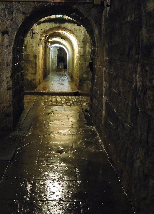 Fort Douamount's dank, dark, cold halls