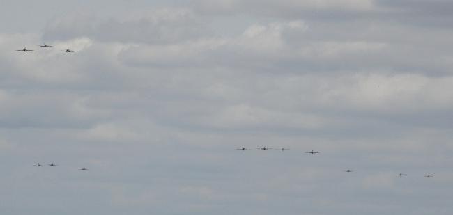 Battle of Britain 75th Anniversary Massed Flypast