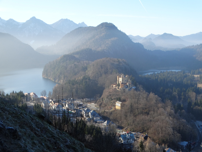 View from Neuschwanstein Castle