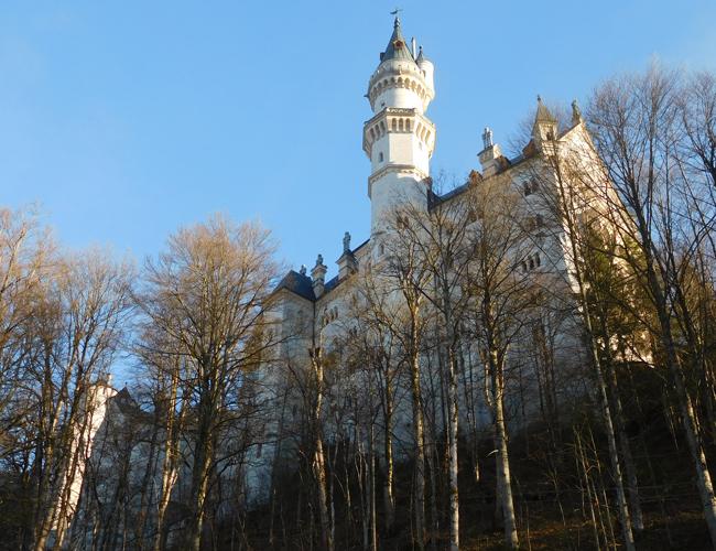 Neuschwanstein Castle - first impressions