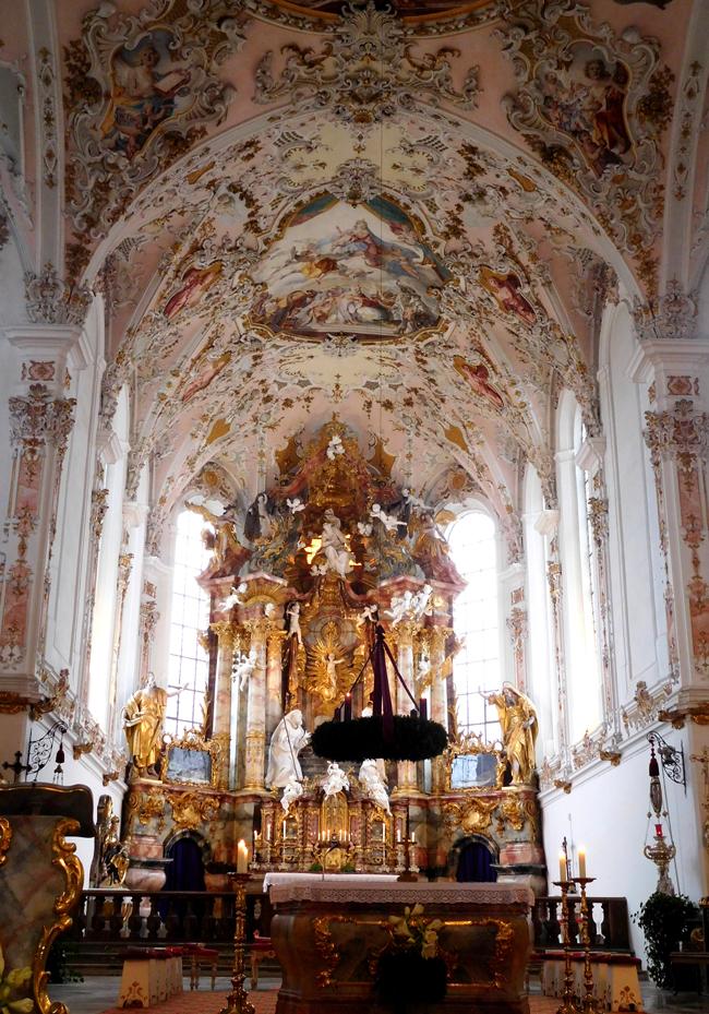 Altar of Rottenbuch Abbey