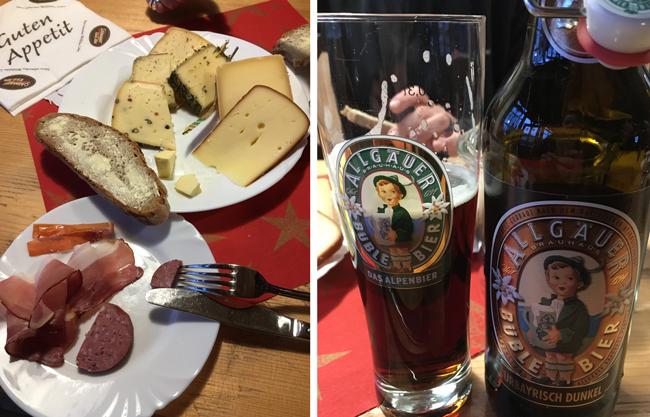 Delicious spread from Schonegger Kase-Alm cheese farm