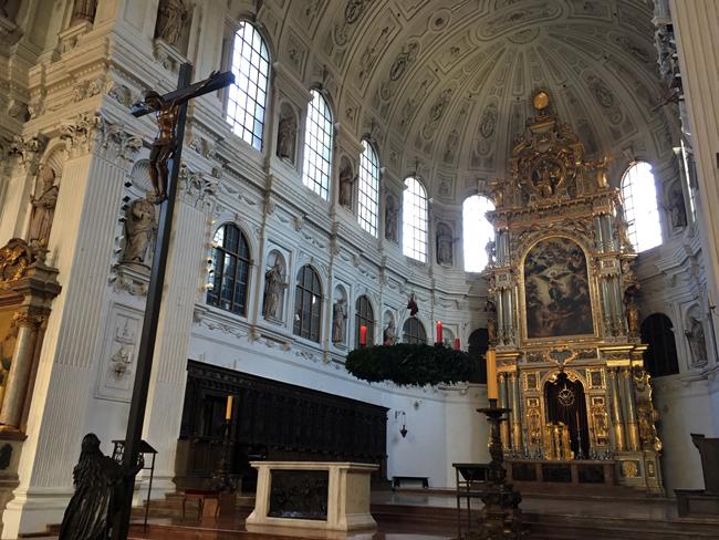 St Michael's Church in Munich centre