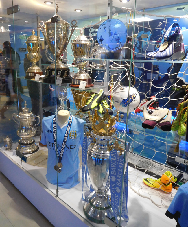 Just a small sample of the silverware.