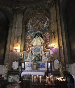 The Black Madonna of Notre-Dame de la Dauarde.