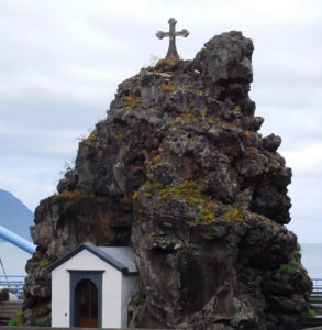 São Vicente Chapel - a small symbolic chapel built in 1694 constructed right on the very spot where it is said Saint Vicente appeared.