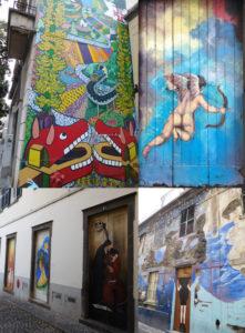 Street art in Funchal.
