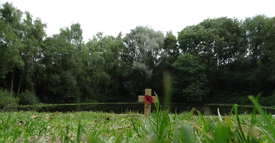 Always remembered – Spanbroekmolen Mine Crater
