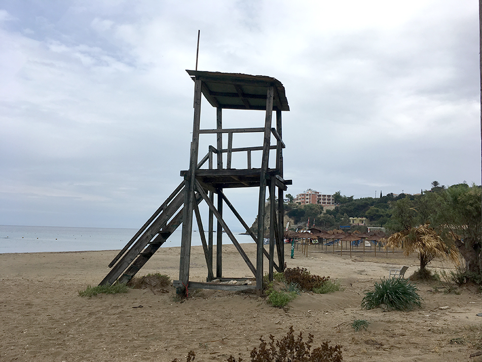 Surf Lifesaving tower, Kalamaki beach