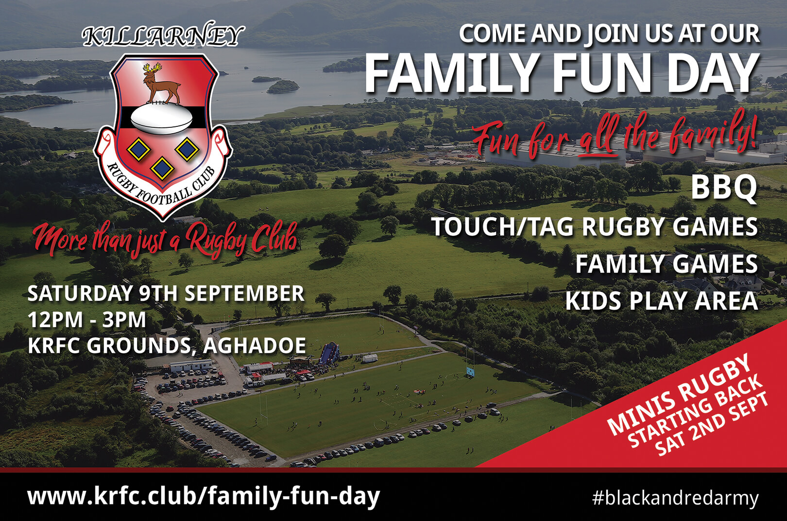 KRFC Family Fun Day - Saturday 9th September 12-3pm