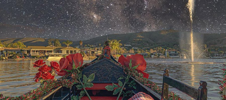 Starry Eyed Surprise | Gondola Rides by Black Swan Gondola