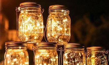 Lit Lanterns   Black Swan Gondola