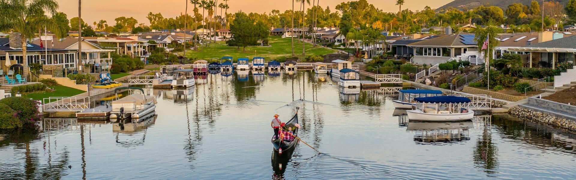 Gondola Rides in San Diego
