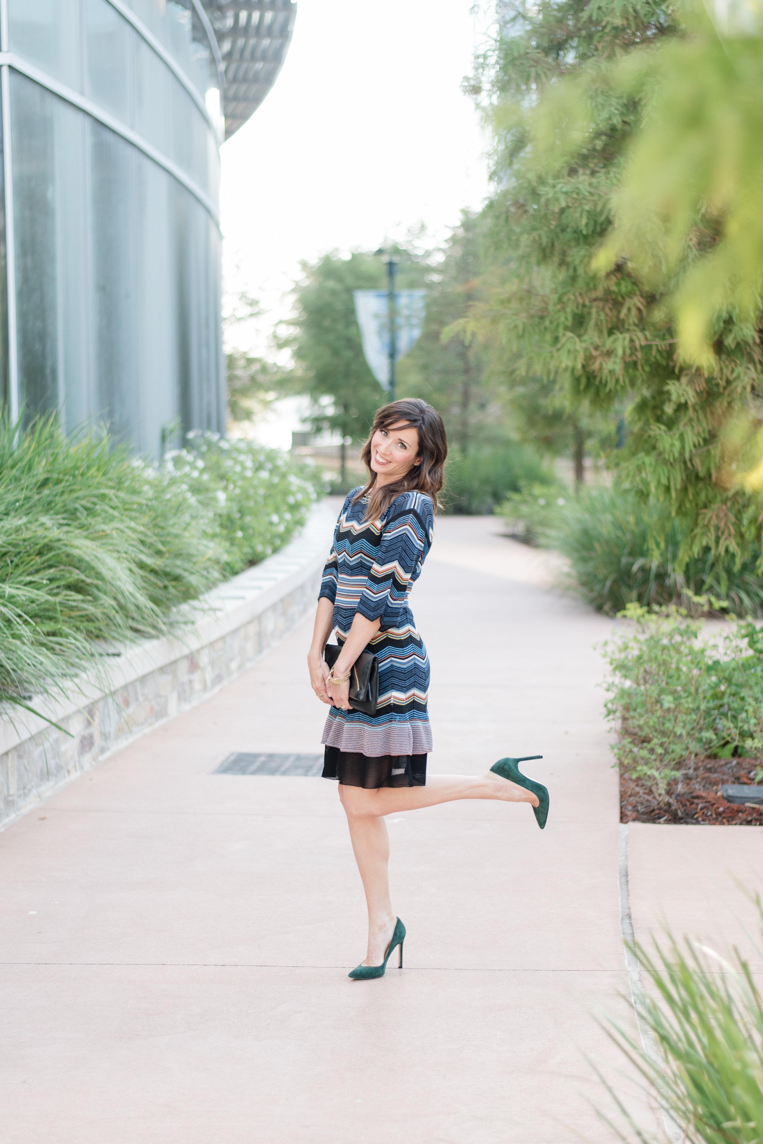 my favorite fall dress, fall, knit, dress, missoni, designer, zig zag, pretty, feminine, flattering, method39, my style, wardrobe stylist, your stylist, fall fashion, sweater weather