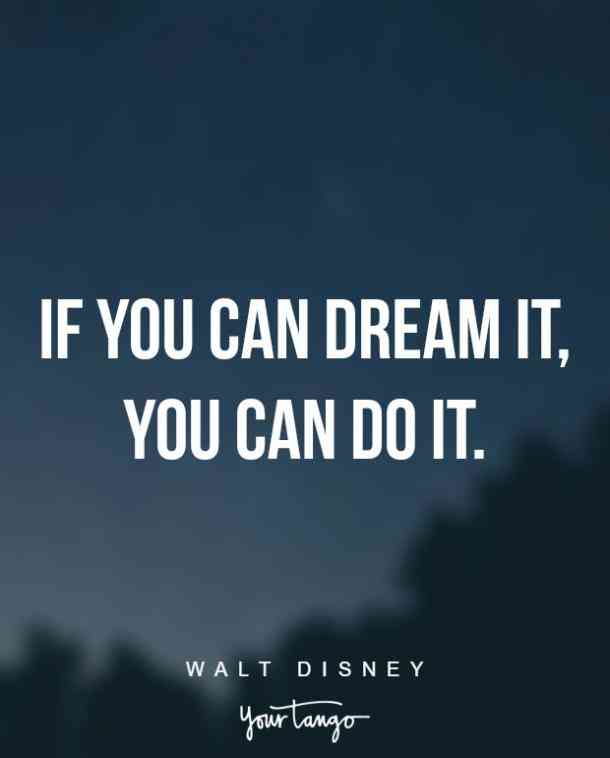 dream it, do it, inspirational quote, self confidence, believe in yourself, get out of your own way