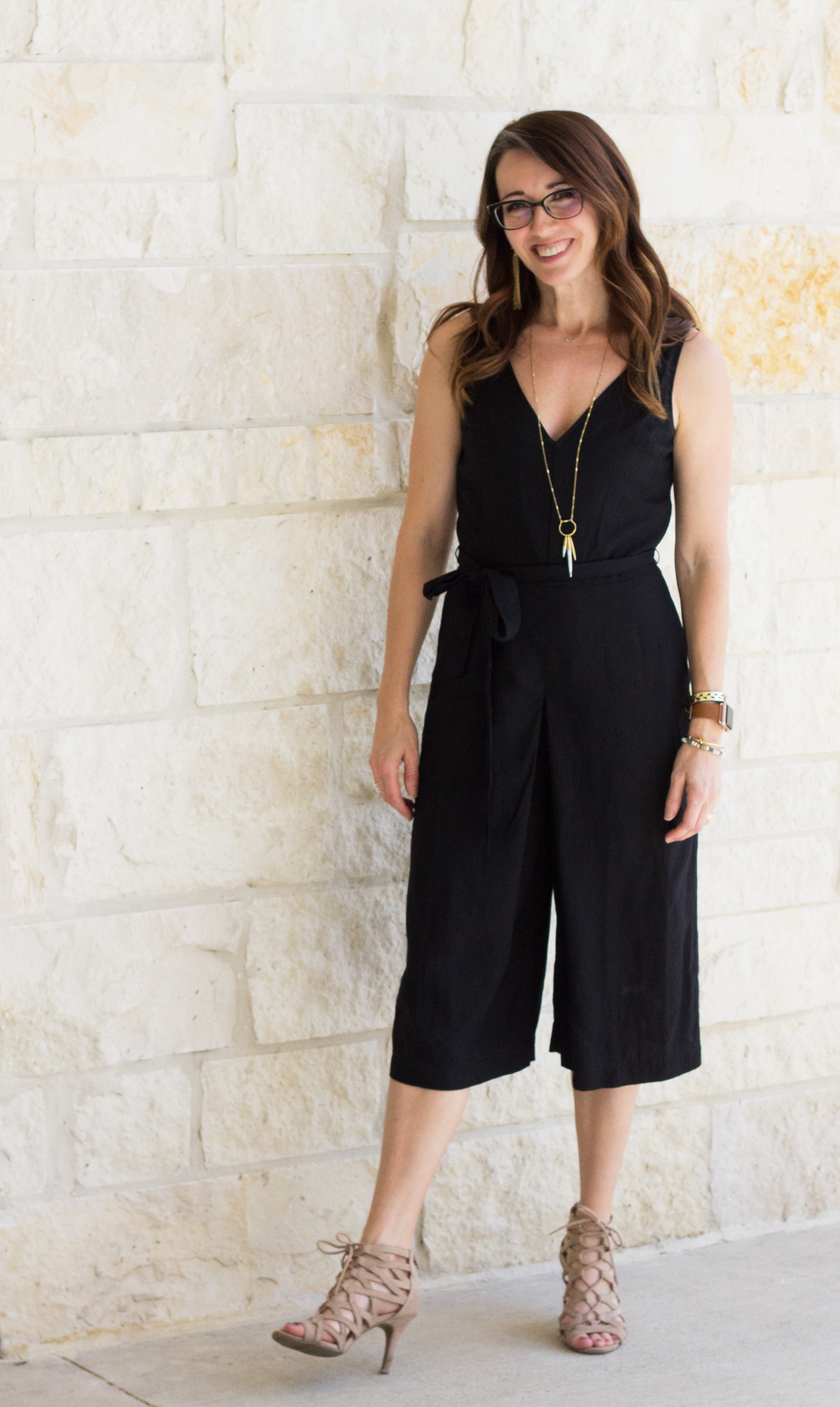 jumpsuit, black, one piece, method39, get dressed, easy, wardrobe stylist, personal stylist, find your style, as seen on me, spring style, mom style, everyday style