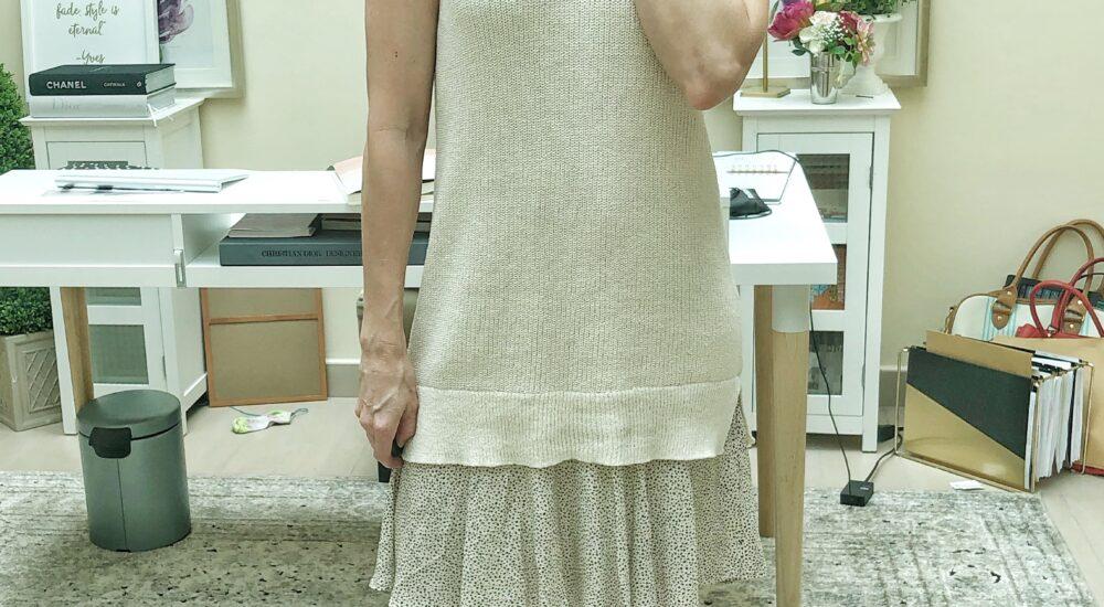 One Dress Worn 4 Ways