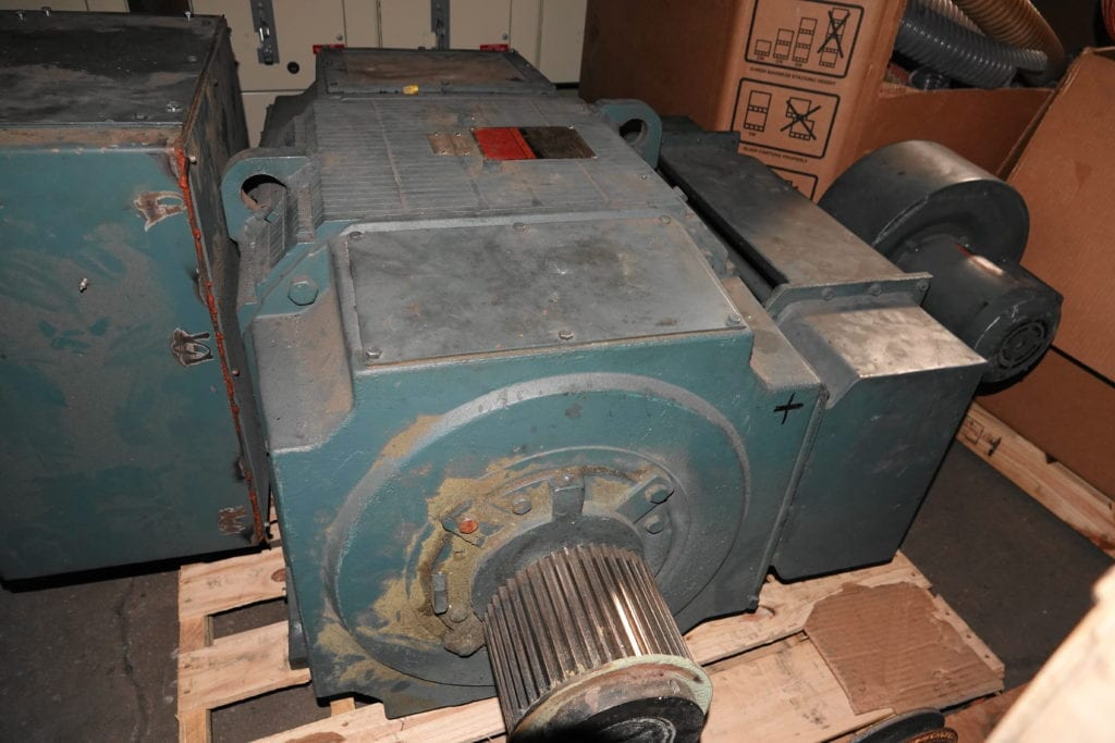 150 hp DC Reliance Motor $15000 USD