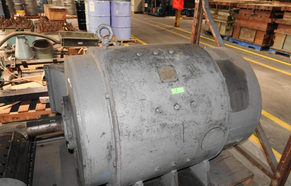 300 hp DC 480 v 1750 rpm Louis Allis Flexitoro Motor $16000 USD