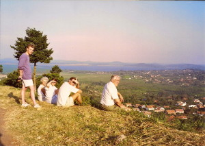 View of Lake Victoria from the top of Tank Hill - maybe Speke's first glimpse?
