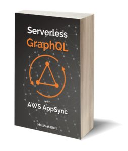 This book gets you a running start with serverless GraphQL APIs on Amazon's AWS AppSync.