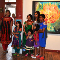 Algorhythm at the Phoenix Art Gallery, celebrating South Asian Art
