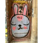 Graffiti Rabbit, by Tania Sen