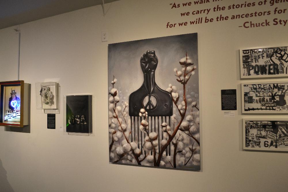 Higgledy Piggledy, sculpture at National Liberty Museum, Philadelphia