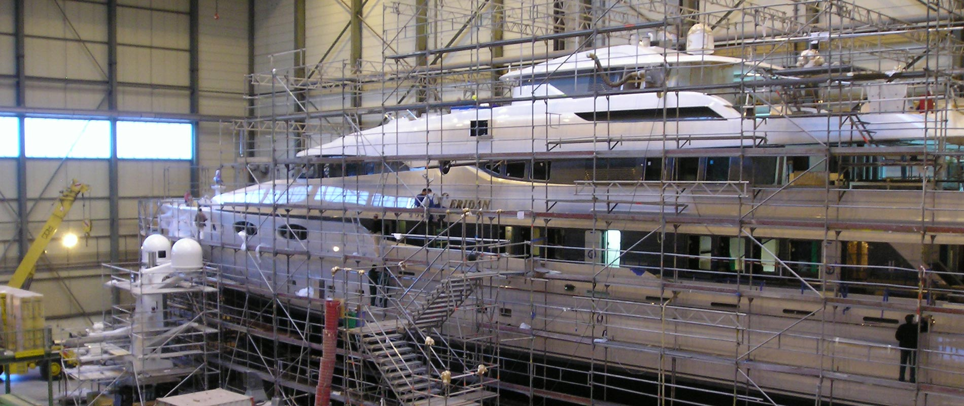 new construction yacht
