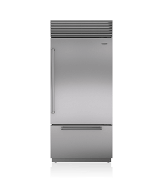 Sub Zero top and bottom refrigerator repair