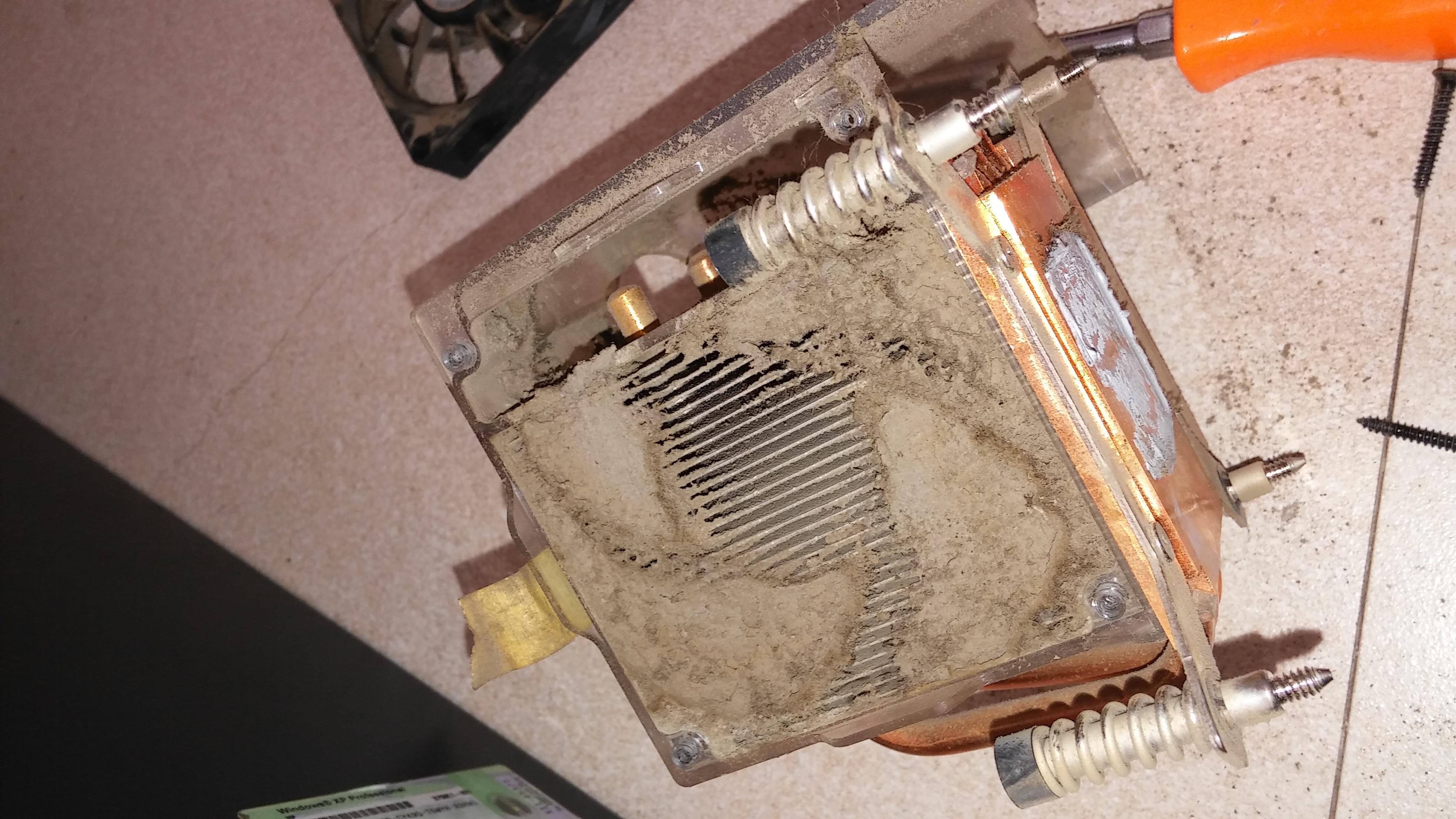 Preventive Maintenance heatsink cleaning